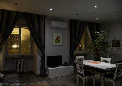 Casa Floriana Castello - Il soggiorno living